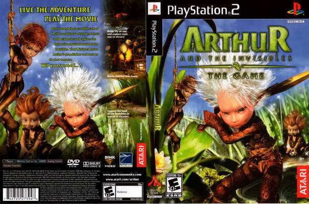 Arthur And The Invisibles The Game Usa En Fr Es Ps2 Iso Best Rom Place Playstation Nintendo Sega