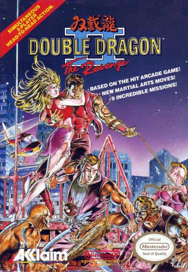 Double Dragon Ii The Revenge U Prg1 Nes Rom Best Rom Place