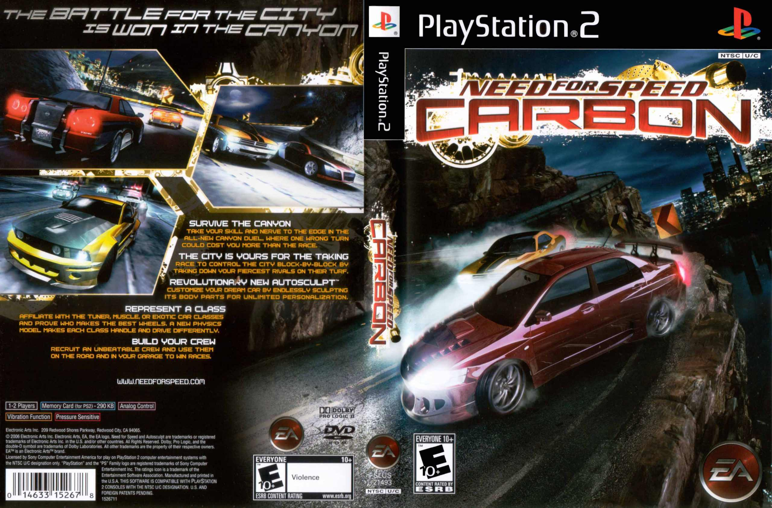 Need For Speed Carbon Eu Ps2 Iso Best Rom Place Playstation