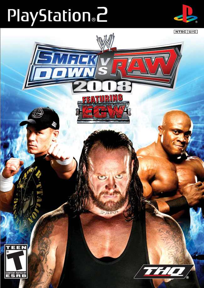 WWE SmackDown vs. Raw 2008 (EU) PS2 ISO | Best Rom Place Playstation  Nintendo Sega